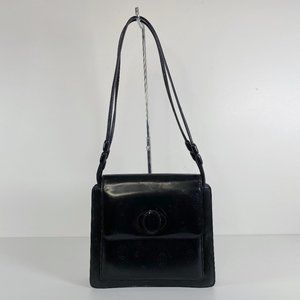 Cartier Happy Birthday Enamel Patent Leather Purse